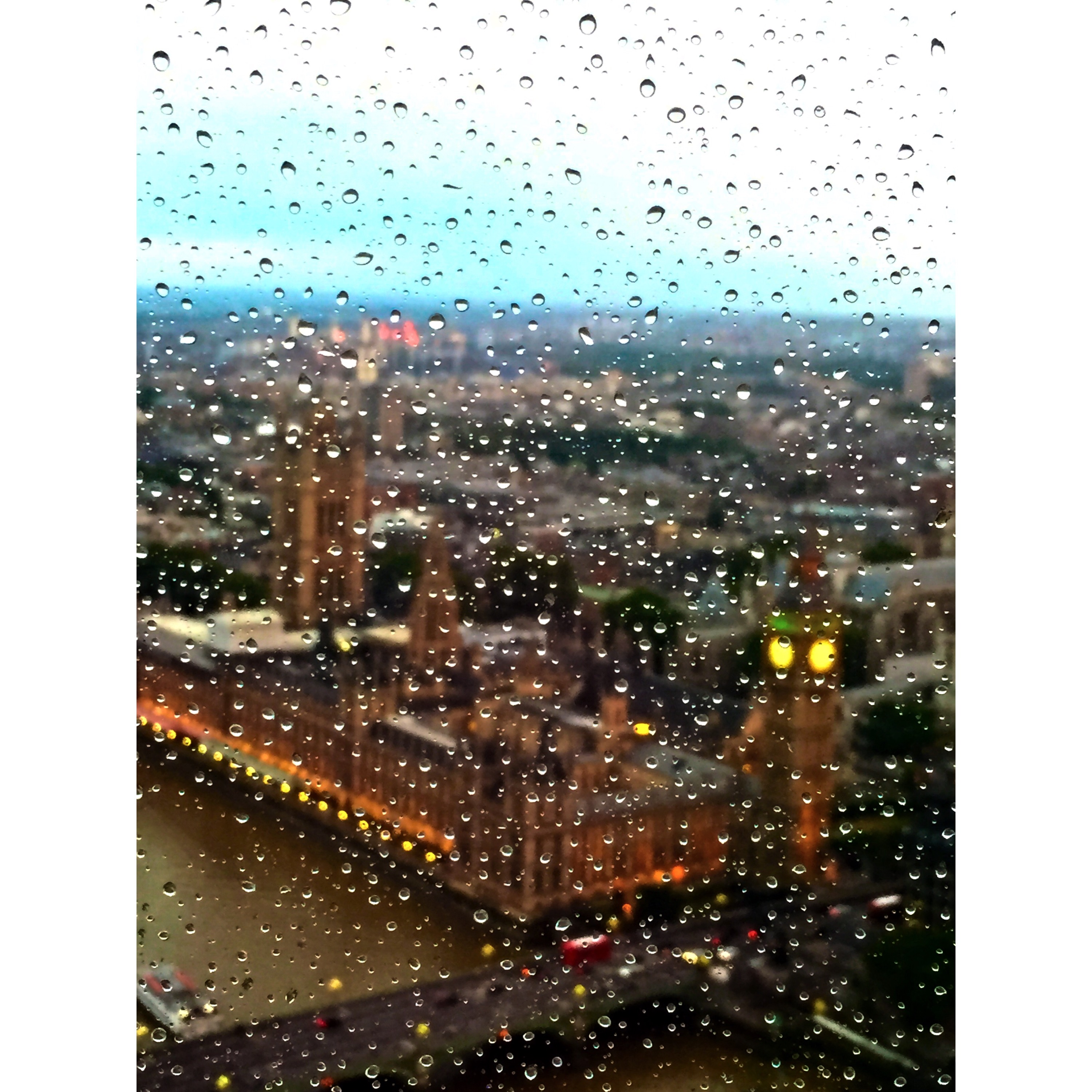 Picturesque London On A Rainy Day